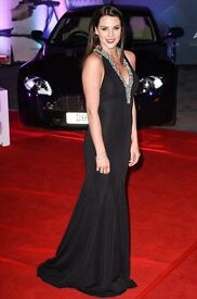 Pia Michi prom dress black size 12, beautiful design