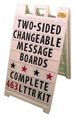 Sidewalk Sign Signicade Changeable Message Board Sign Kit