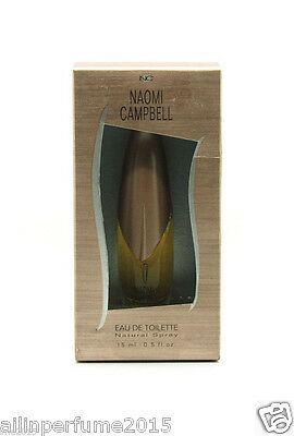 Naomi Campbell 0 5 Fl Oz   15 Ml Eau De Toilette Spray For Women