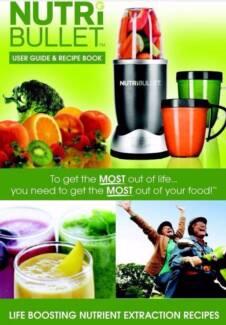 Nutribullet Recipe Book A5 - Brand New