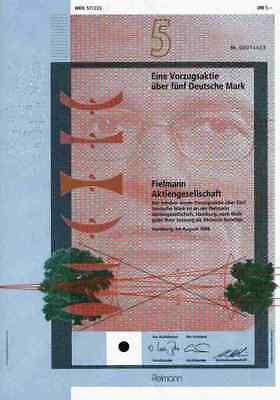 Fielmann AG Optik 1994 Hamburg Cuxhaven Zürich Genf Ateliers Roger Pfund Füssli