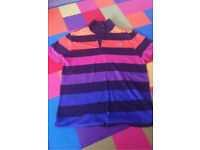 Lacoste polo top size 4 mint