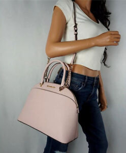 LARGE MICHAEL KORS PINK SATCHEL NEW WITH TAGS