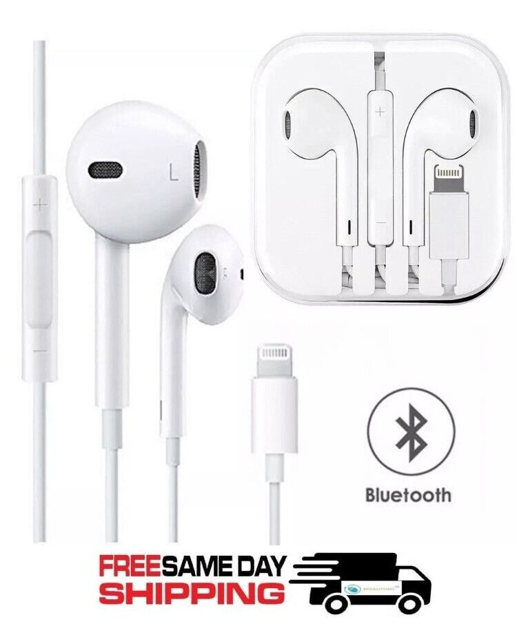 Bluetooth Wired Earbuds Headphones Headsets In-ear for iPhon