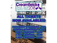 Creamfield tickets from £95-£250
