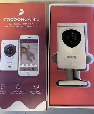 Cocoon Cam Plus - Baby Monitor with Breathing Monitoring COOC-002U