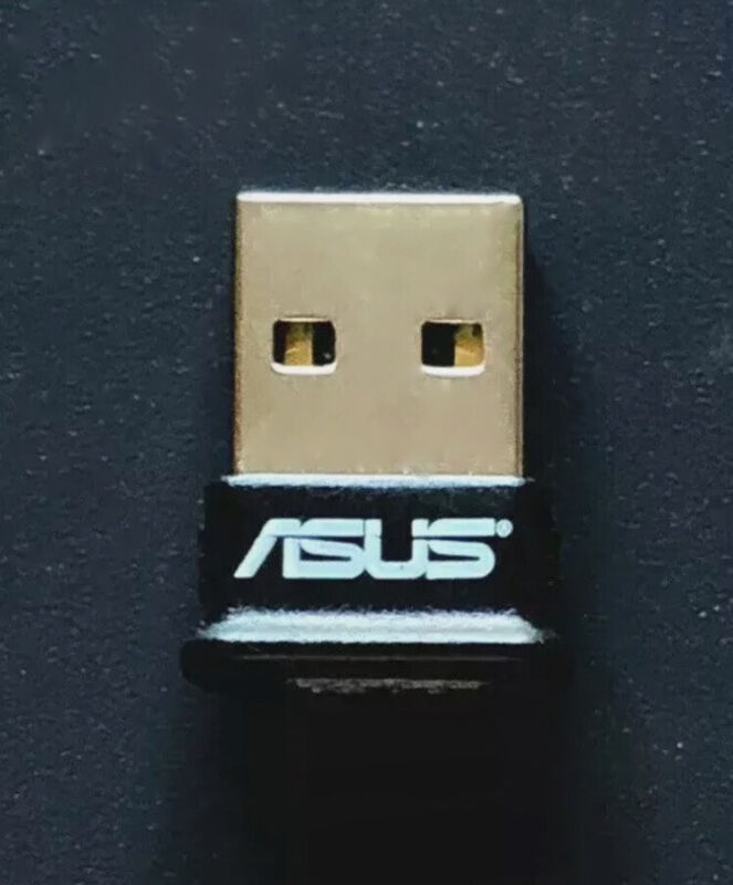 Asus Wireless Network USB-BT400 Bluetooth 4.0 USB 2.0 3Mbps USB Adapter Only