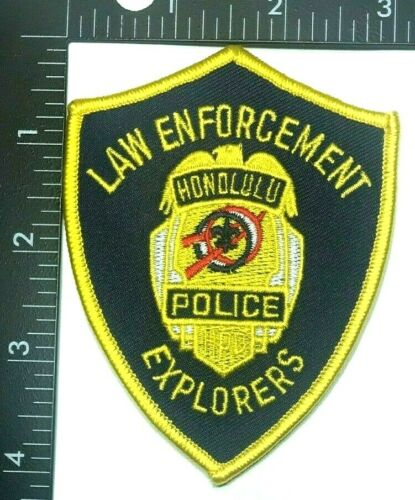 HONOLULU POLICE LAW ENFORCEMENT EXPLORERS PATCH (PD 5) HAWAII