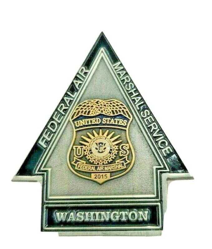 Federal Air Marshal Challenge Coin Washington Field Office WFO