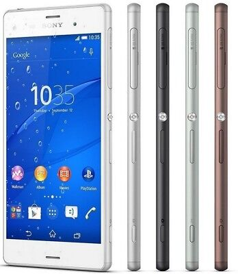 Sony Xperia Z3 D6603 LTE GSM Unlocked Smartphone Cell Phone AT&T T-Mobile