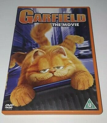 Garfield The Movie DVD