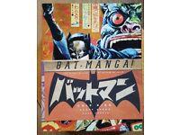 Bat-Manga the secret history of Batman in Japan