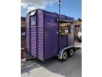 Catering trailer double axle
