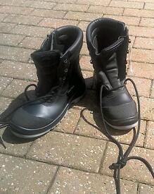 Aboutblu safety rigger boots