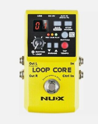 NUX Loop Core Series Effects Unit Guitar Looper Pedal NEW IN BOX UK