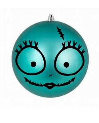 """The Nightmare Before Christmas Inspired Sally 2"""" DIY Ornament Decal ()"""