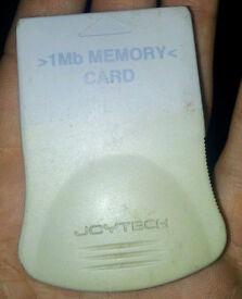 1mb ps1 memory card