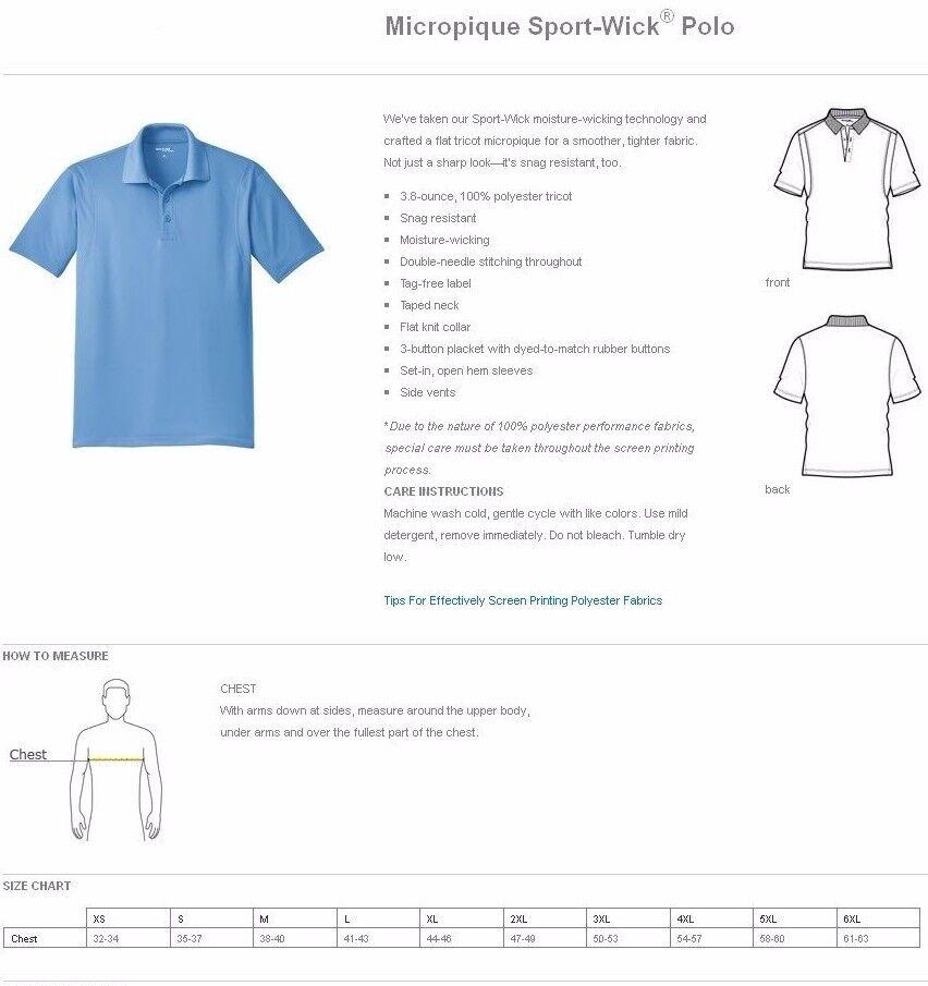46f1f85c96e EAZY GOLF Men's S-3XL 4XL 5XL 6X Dri-Fit Micro Pique Polo Sport Shirts  TALL, REG