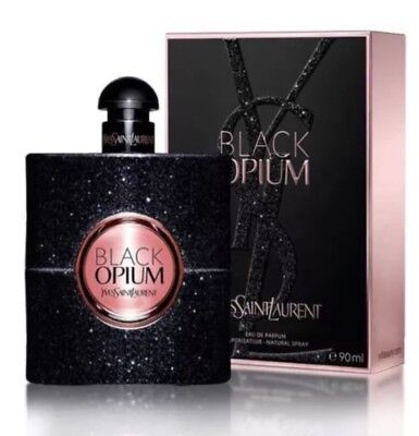 Black Opium Yves Saint Laurent YSL EDP Womens Perfume Parfum Spray 3.0 oz 90 ml