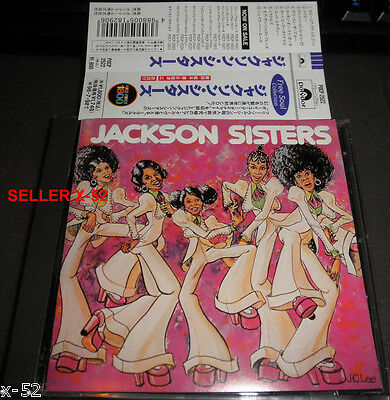 JACKSON SISTERS cd JAPANESE release WHY DO FOOLS FALL IN LOVE johnny bristol