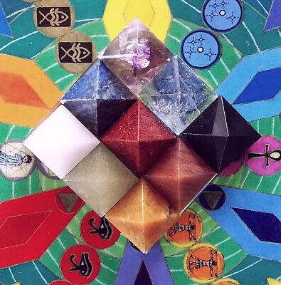 Хрусталь LARGE SOLID 9 CHAKRA Crystal