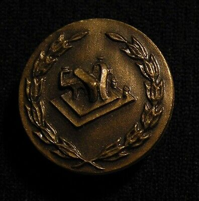 ANTIQUE ORT ORDER OF RAILROAD TELEGRAPHERS UNION TELEGRAPH BUTTON STUD PIN NOS!