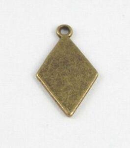 30PCS-Antiqued-bronze-rhombus-charms-FC15498B