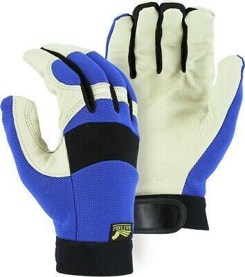 Bald Eagle mechanics style pigskin gloves leather work riding 2152