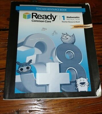 Ready Common Core Teacher Resource Book 1 Mathematics 9781495720130 Paperback