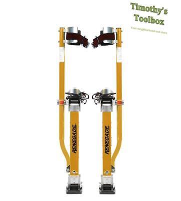 Renegade Magnesium Drywall Stilts 24-40