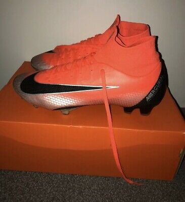 Nike Mercurial Superfly VI Pro Cr7 Mens Fg Football Boots Size 8.5 Uk