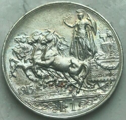 1915 R Italy Lira - Beautiful Uncirculated