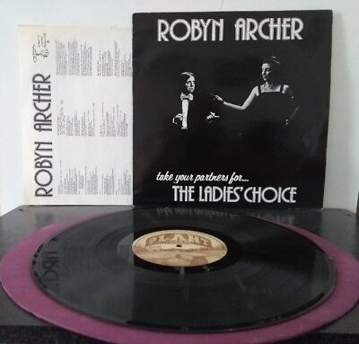 Robyn Archer ‎– Take Your Partners For...     Plant Life–PLR 045  UK 1983  vinyl