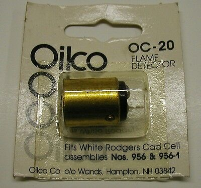 White Rodgers Cad Cell Flame Detector Replacement For 956 956-1 Oilco Oc-20