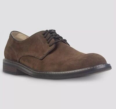 Men's Goodfellow and Co. Brown Javier Shoes Sz 8 Classic Buck Oxford Faux - Buck And Buck Shoes