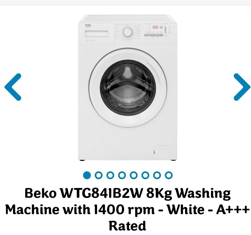 6 Month old A+++ Rated Washing machine