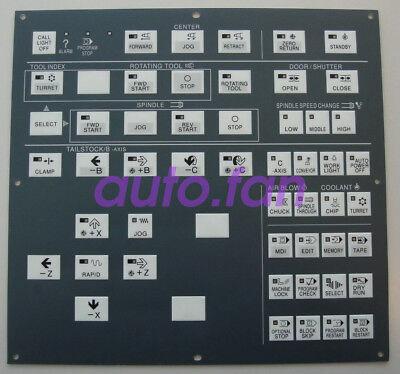 Hitachi Seiki Cnc Keypad Membrane Control Panel - Hs1006