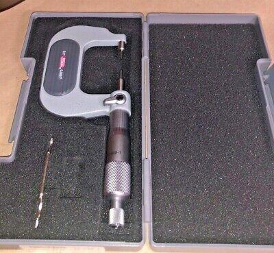 Spi Spline Micrometer 0-1 .0001 17-948-1 Excellent