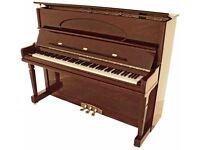 BRAND NEW STEINHOVEN SU 128 HIGH GLOSS MAHOGANY UPRIGHT PIANO