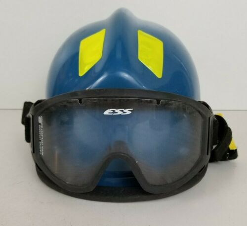 Cairns 360R Firefighter Helmet w/ Goggles Low Profile Rescue.