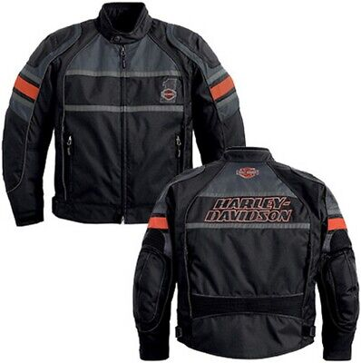 Harley-Davidson XL 3 in 1 Reflective RUMBLE Functional Jacket w Liner 98202-13VM