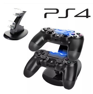 PS4 CHARGING DOCK LED LIGHT CHARGE 2 CONTROLLERS AT ONCE Narre Warren Casey Area Preview