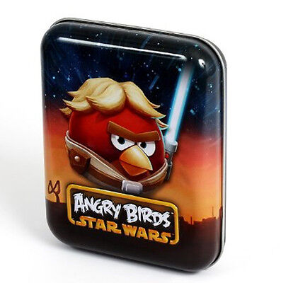 Star Wars Angry Birds Playing Cards Collectible Tin Luke Skywalker