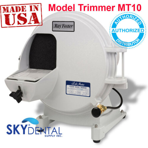 Model Trimmer MT10 Ray Foster 1/3 HP Motor 115V Dental Lab OG Swinging Door FDA