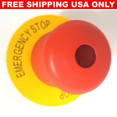 Eaton E-stop Pushbutton With Legend Plate