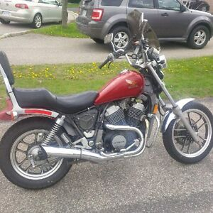 84 Honda Shadow 500