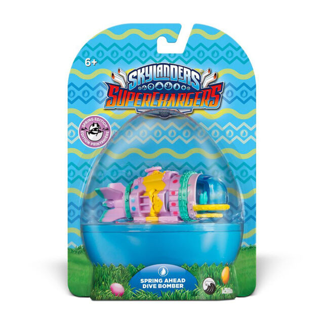 Skylanders Superchargers - Spring Ahead Dive Bomber | NEUWARE | Easter Edition