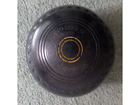 (Set of 4) Used Henselite Super Grip Lawn Bowls Size 4