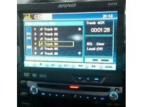 Ripspeed cd/dvd touchscreen screen comes out with remote