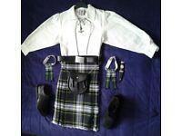 Boys kilt outfit, age 12
